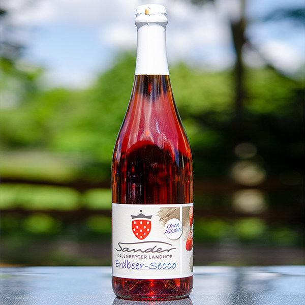 Erdbeer-Secco alkoholfrei