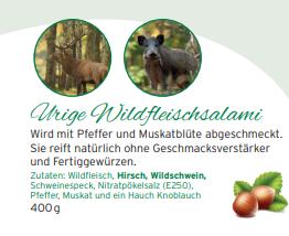 Wildfleischsalami